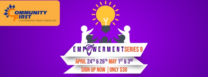 Sign up for our Empowerment Series- starting April 24th 2018